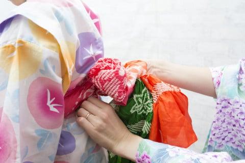子供 浴衣 帯 夏祭り 花火