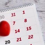排卵日 カレンダー ハート いつ
