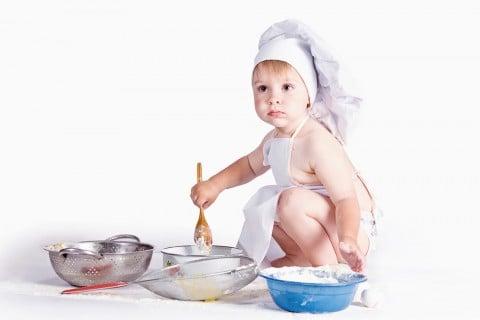 赤ちゃん コック 離乳食 料理 ごはん