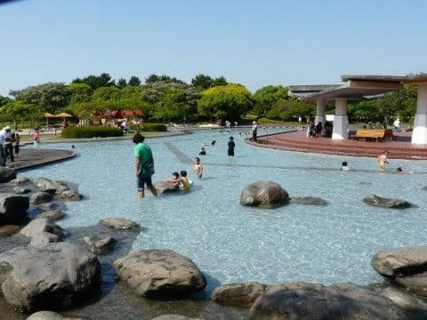 要出典 じゃぶじゃぶ池 県立 吹上浜海浜公園(佐賀県/じゃぶじゃぶ池)