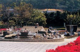 要出典 じゃぶじゃぶ池 大隅広域公園 噴水広場