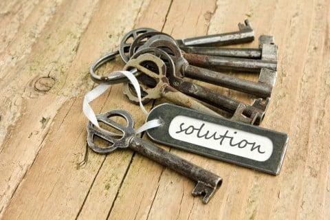 カギ 鍵 解決策 提案 モノ 物 解消法