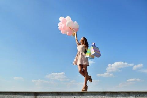 女性 解放 空 元気 健康