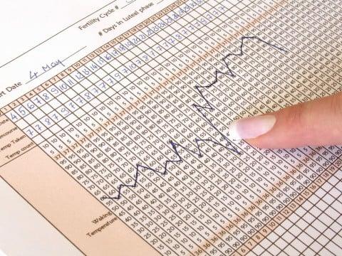 基礎体温 表 グラフ