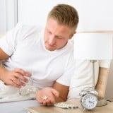 男性 薬 時計 服用