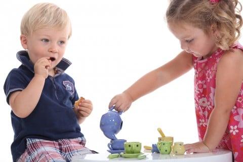 お茶 ティータイム 子供 ままごと 遊び