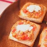 離乳食 納豆 トマト パン トースト チーズ
