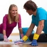 夫婦 カップル 家事 掃除