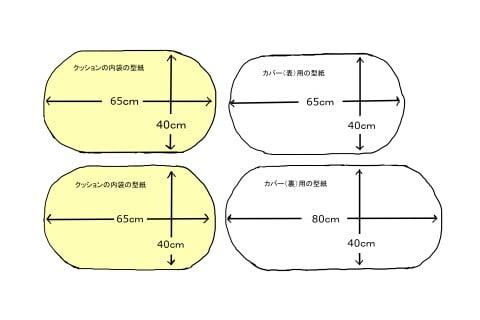 イラスト トッポンチーノ 型紙
