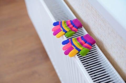 暖房器具 冬 手袋 オイルヒーター