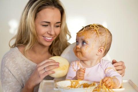 赤ちゃん ママ ごはん 食事 離乳食 ぐちゃぐちゃ