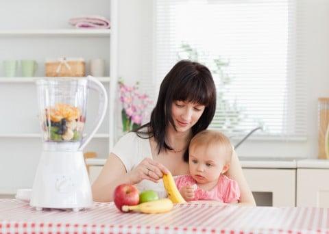 離乳食 ミキサー ママ 赤ちゃん