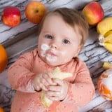 赤ちゃん 離乳食 食べる バナナ 食事 果物 フルーツ