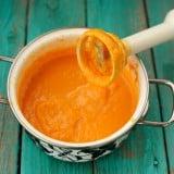 離乳食 ブレンダー かぼちゃ ペースト 鍋