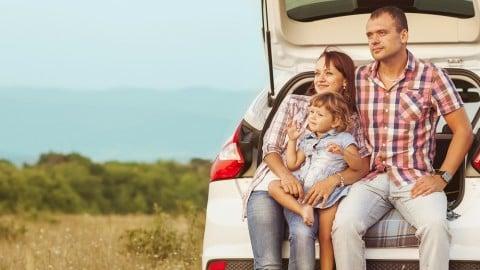 家族 旅行 車 ファミリー