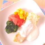 離乳食 ヨーグルト 白身魚 レシピ