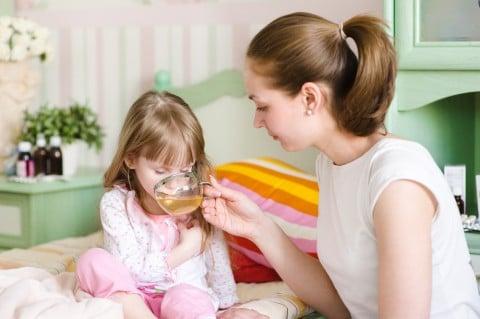 子供 病気 親子 看病