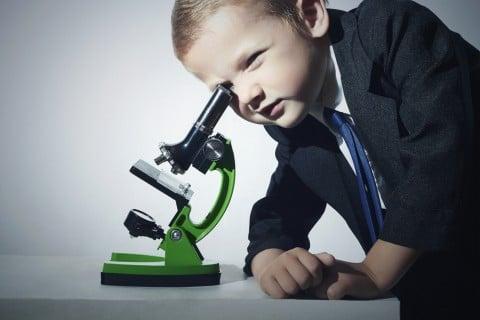 男の子 フォーマル スーツ 顕微鏡 研究 ネクタイ