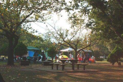 篠崎公園 バーベキュー場