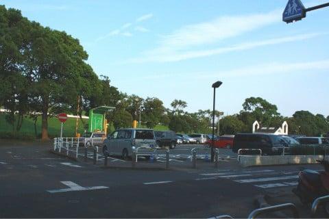 篠崎公園 駐車場