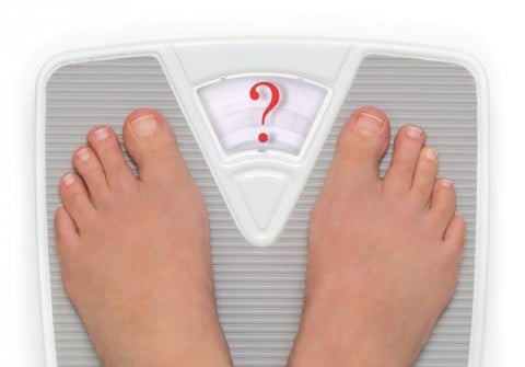 体重計 疑問 クエスチョン はてな