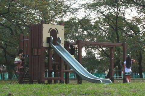 篠崎公園 A地区 アスレチック