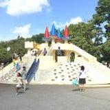 飛鳥山公園 お城 すべり台 児童エリア