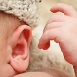 赤ちゃん 新生児 耳