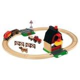 要出典 電車のおもちゃ ファームレールセット