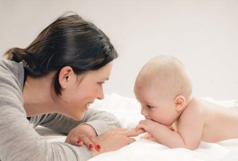 親子 赤ちゃん ママ 一緒