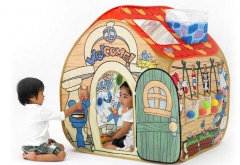 要出典 ディズニー おもちゃ 選び方 野中製作所 トゥーンタウン あそびと知育のボールハウス