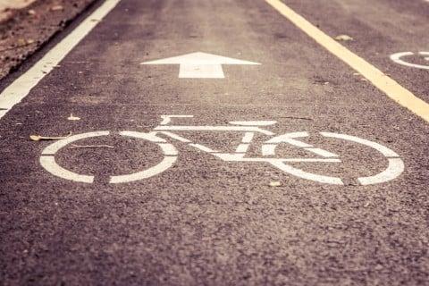 道路 自転車 道 マーク