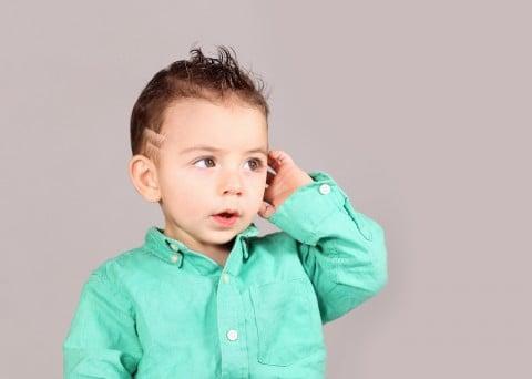 子供 モヒカン 男の子 赤ちゃん ヘアスタイル 髪型 ライン