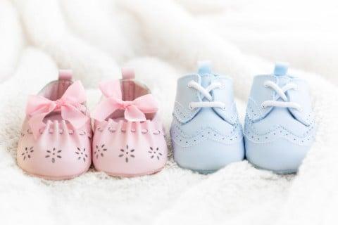 男の子 女の子 男女 靴 赤ちゃん 性別