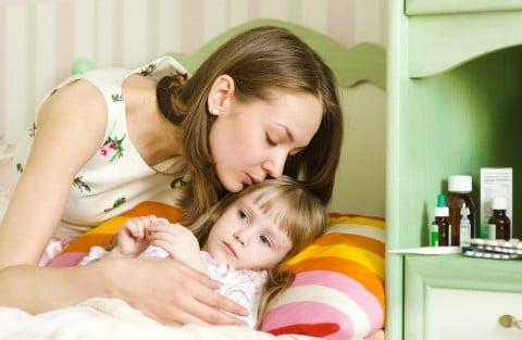 親子 子供 看病 ママ 病気