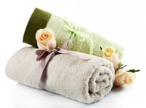 タオル セット ギフト バラ リボン プレゼント 出産祝い 内祝い