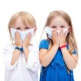 子供 マスク 女の子 風邪 喉 体調不良