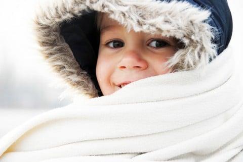 寒い 子供 冬 マフラー 防寒 フード 男の子