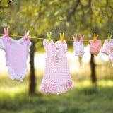 ベビー服 洗濯 水通し 干す 赤ちゃん 服