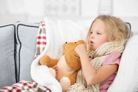 子供 咳 風邪 ベッド 病気