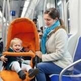 電車 ベビーカー 赤ちゃん ママ 泣く 困る
