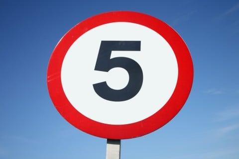 数字 5 五