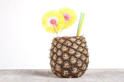 パイナップル ジュース 咳 フルーツ