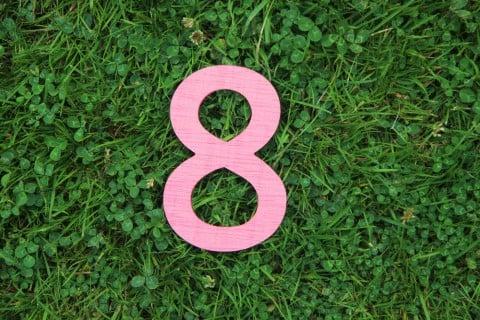 数字 8 八
