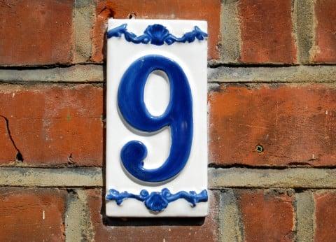 数字 9 九