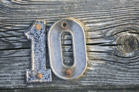 数字 10 十