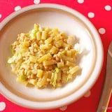 離乳食 レタス パスタ マカロニ レシピ