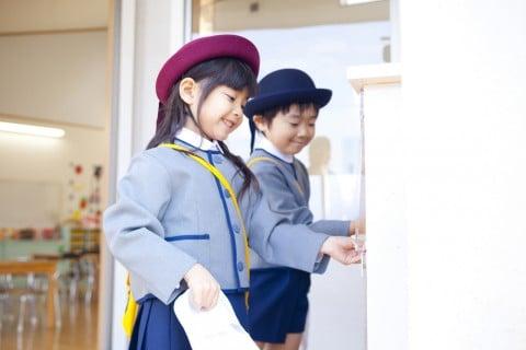 幼稚園 登園 上履 靴 制服