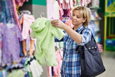 ベビー服 ママ 赤ちゃん服 選択 ショッピング 買い物