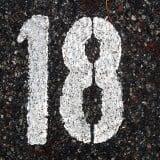 数字 18 十八